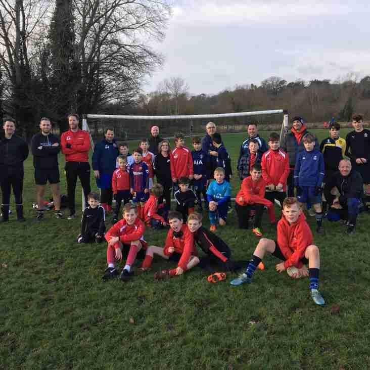 Bury Rangers Christmas Kickabout