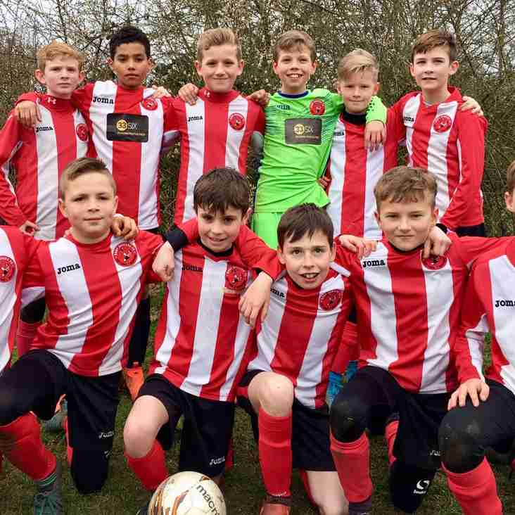 Bury Reds U11s Through To Purple Division Cup Finals