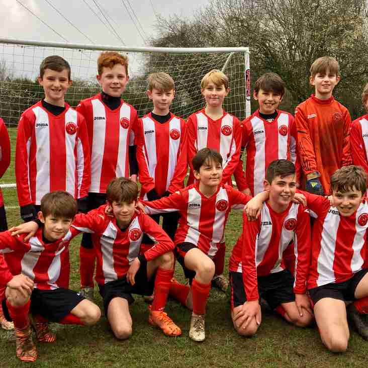 Bury Rangers Blacks Under 11s Through To Yellow Division Cup Finals!