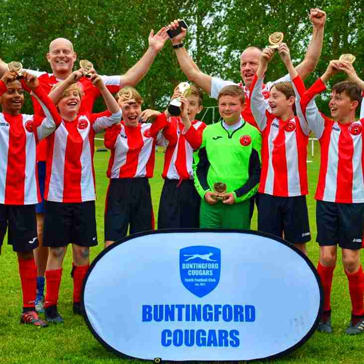 Bury U12s Battle It Out At Buntingford
