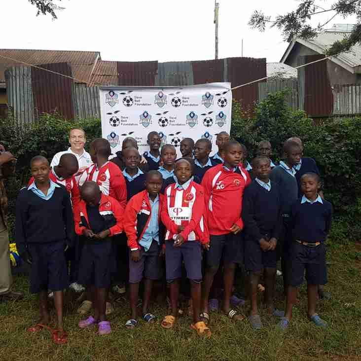 Dave Bell Foundation Presents Bury Kit To Kabete Approved School