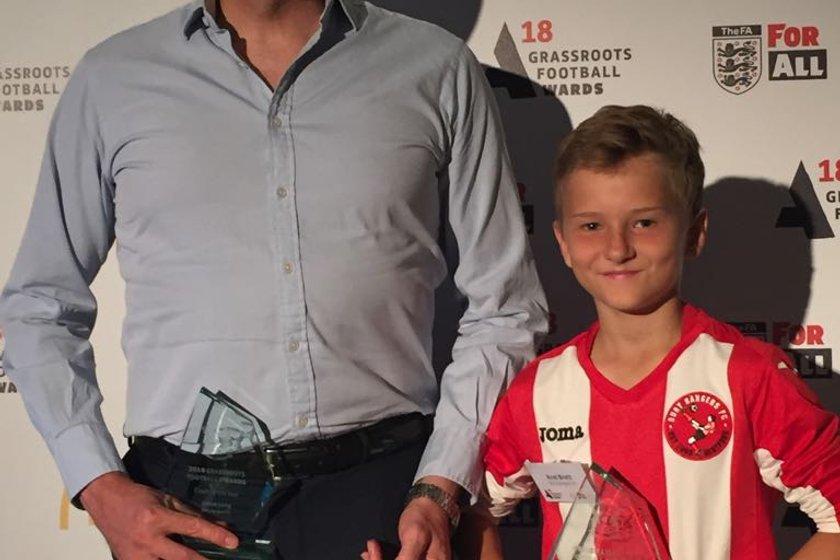 Bury Wins Big At Herts FA Grassroots Football Awards!