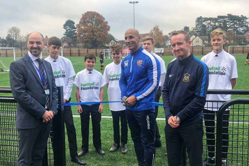 Richard Hale's 3G Football Pitch Open For Business
