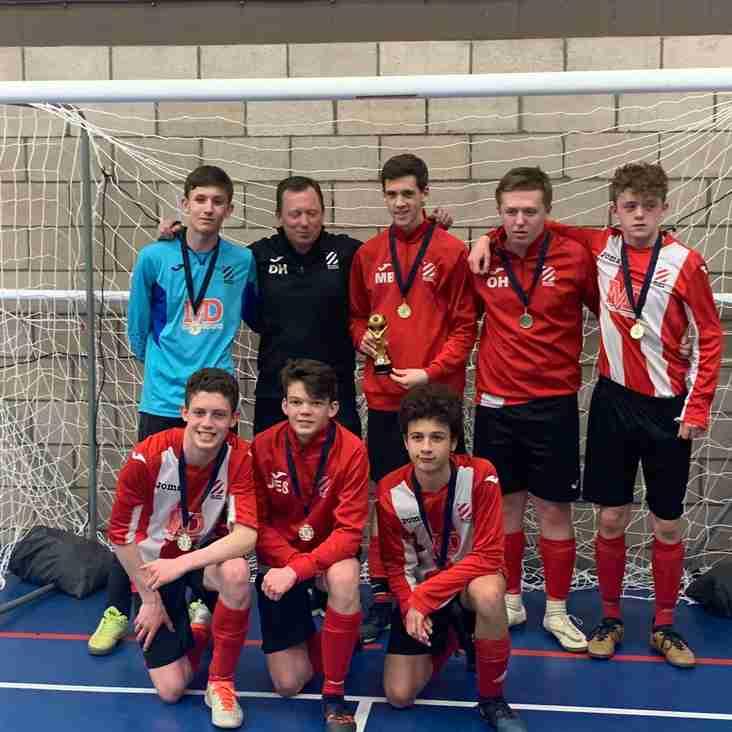 Bury Rangers FC U16s  Futsal Champions!