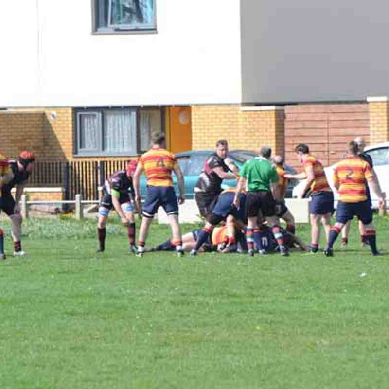 Weavering Warriors 24 - 14 Medway IV