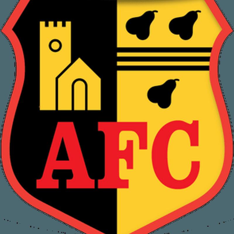 Alvechurch rain in the goals