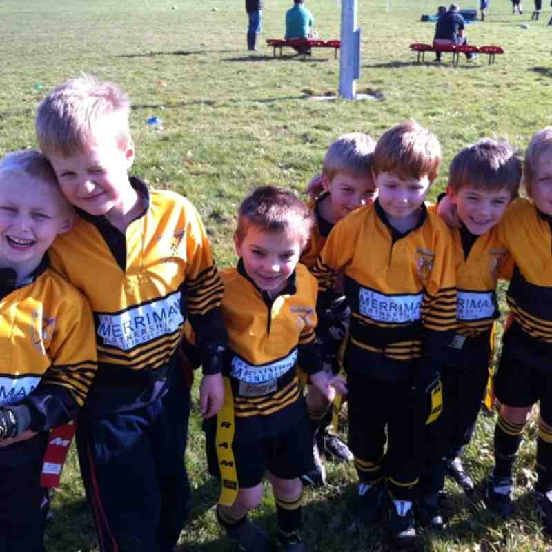 U6 squad at Pewsey 26th Feb 2012