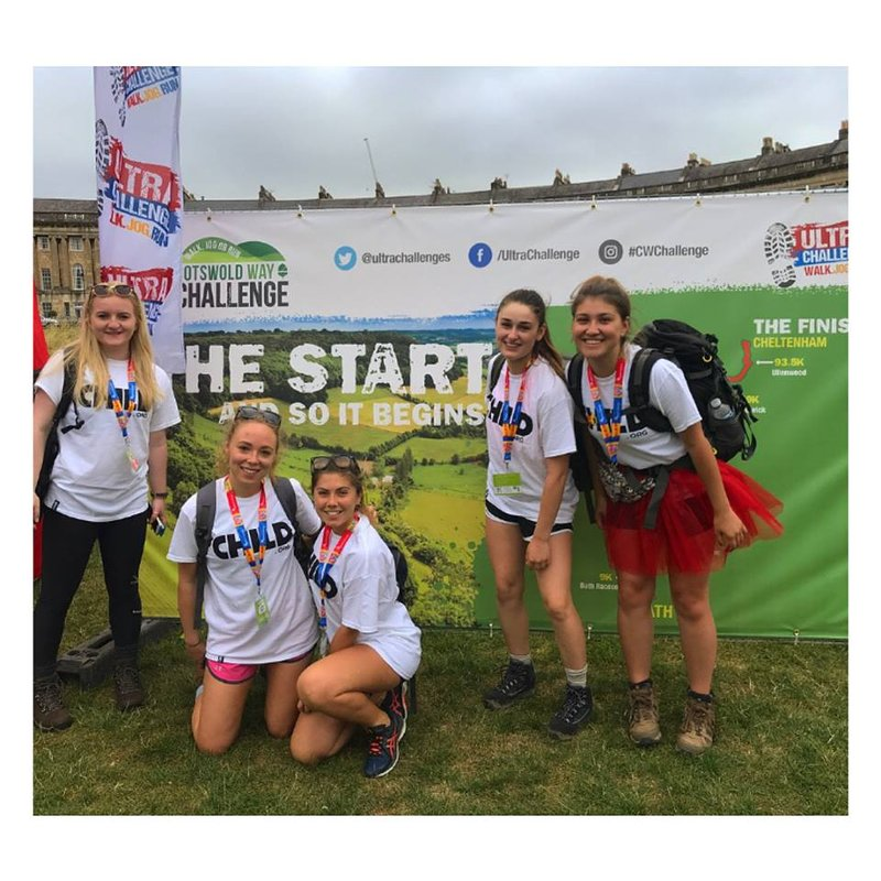 THE 100KM COTSWOLD CHALLENGE FOR CHILD.ORG!