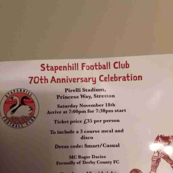 70th Anniversary Celebration Details