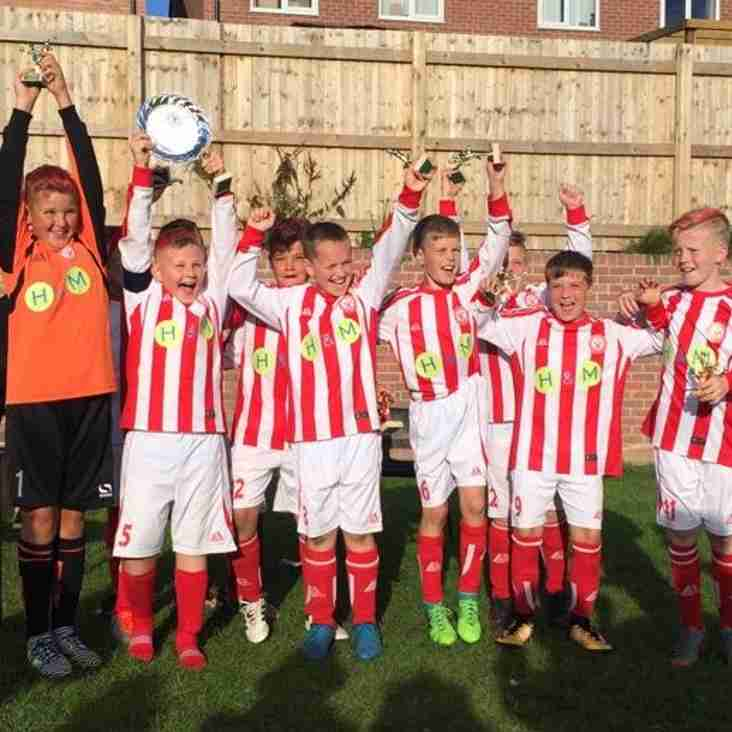 U11 Reds Taste Manchester Tournament Success