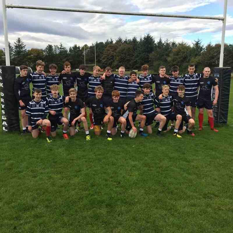 Berwick u16s vs Musselburgh