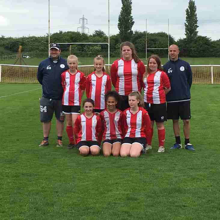U12 Girls at Letchworth Tournament