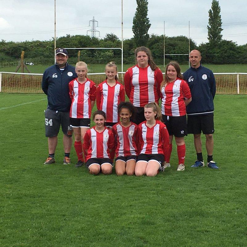 U12 Girls at Letchworth Tournament