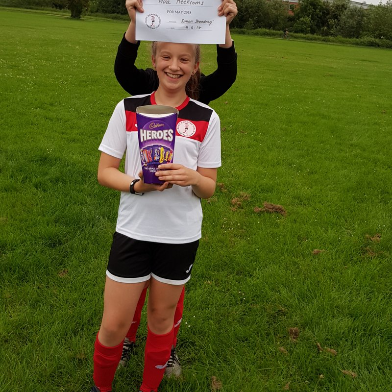 U12 Girls May Player of the Month