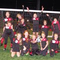 Under 12 Girls beat Chorleywood Common Wildcats 6 - 1