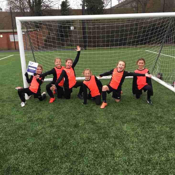 U9 Girls Debut in the League