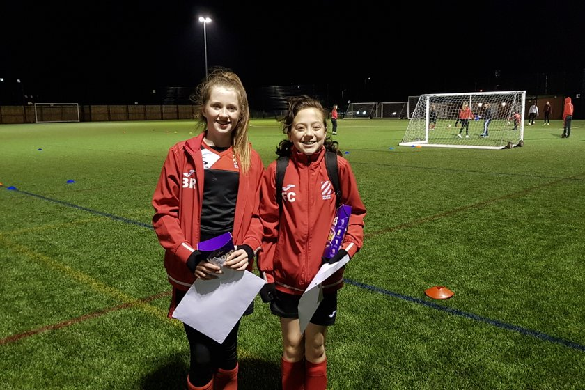 U13 Girls February Player of the Month