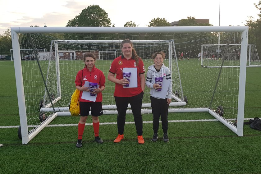 U13 Girls April Player(s) of the Month