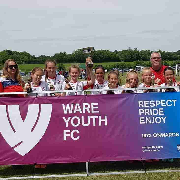 Under 11s Winners - Ware Youth Tournament