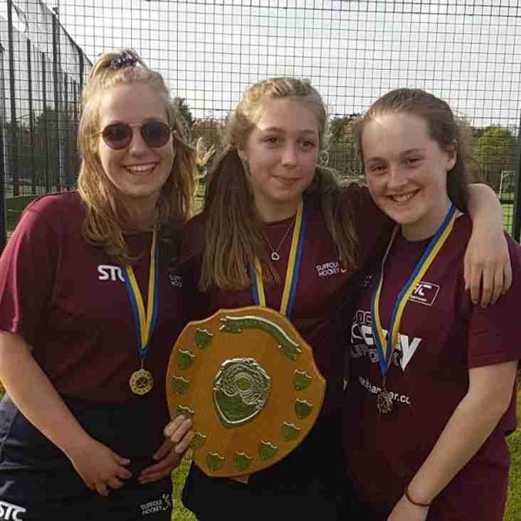 Bury U14 Girls Represent Suffolk