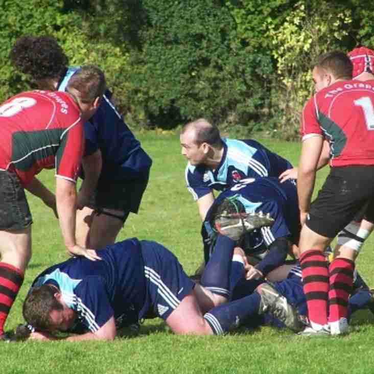 Welshpool 1sts 17-17 Newtown 1sts
