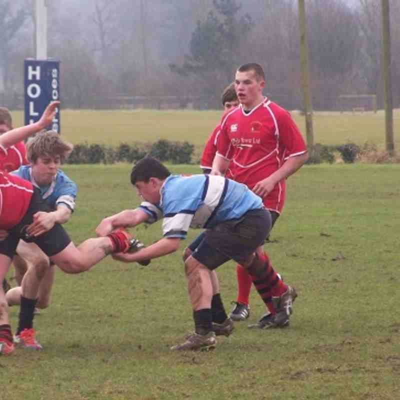 Welshpool U15 v Newtown U15 17/2/13