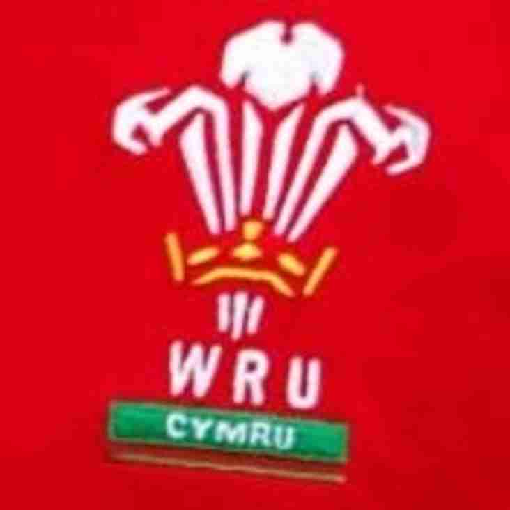 WRU Youth Cup and Bowl Round 2 Draws announced