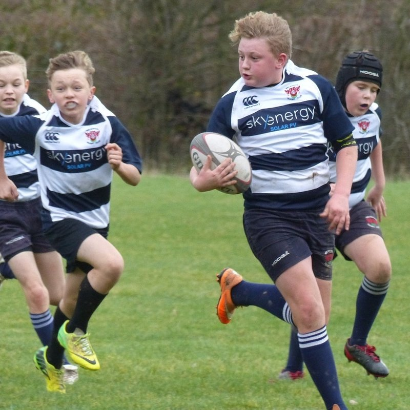 Under 13s lose to Oswestry 15 - 35