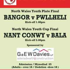 Great double-header in store this Sunday at NW Youth Finals