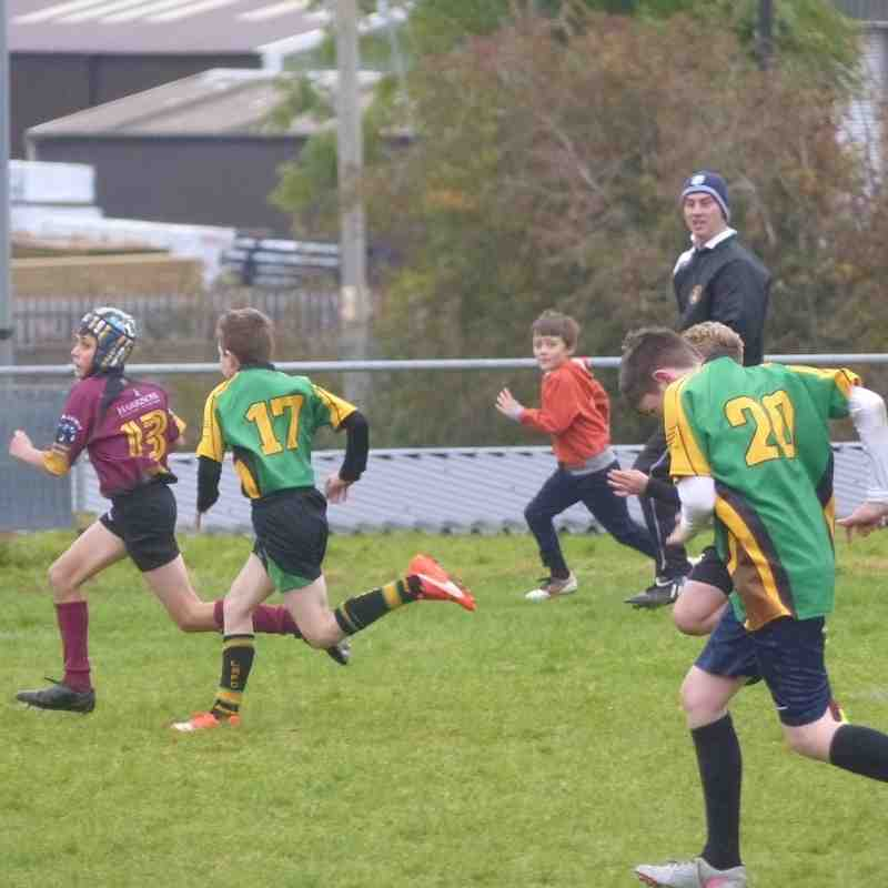 Llanidloes U12 at the Welshpool Festival by Gary Williams