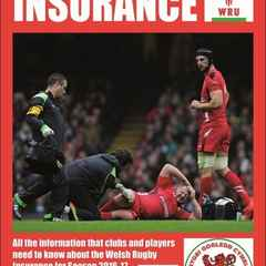 The WRU Insurance for 2016-17 - Who's covered? What's covered?