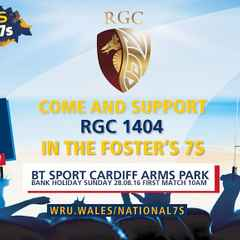 RGC lose in Plate final of Fosters National 7s at Arms Park