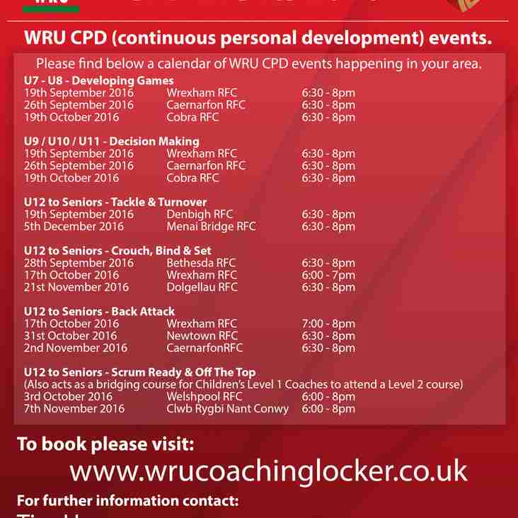 There's a RGC CPD (continuous personal development) event in your area soon