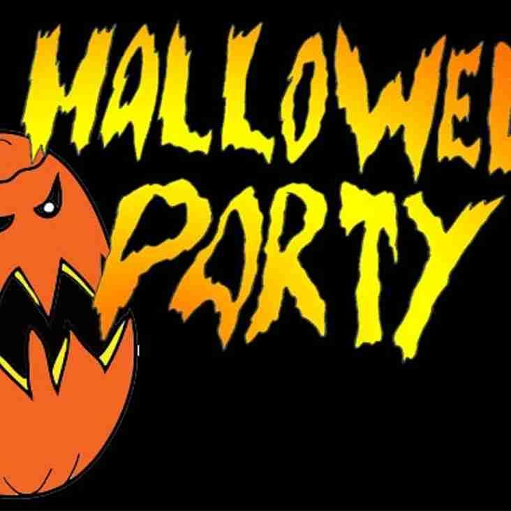 Halloween party meeting