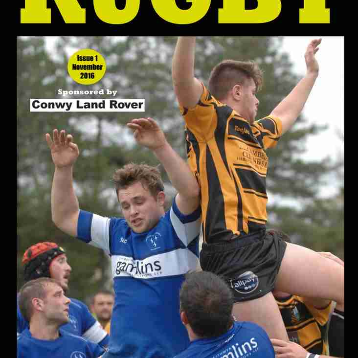 North and Mid Wales Rugby magazine - free online edition is out now