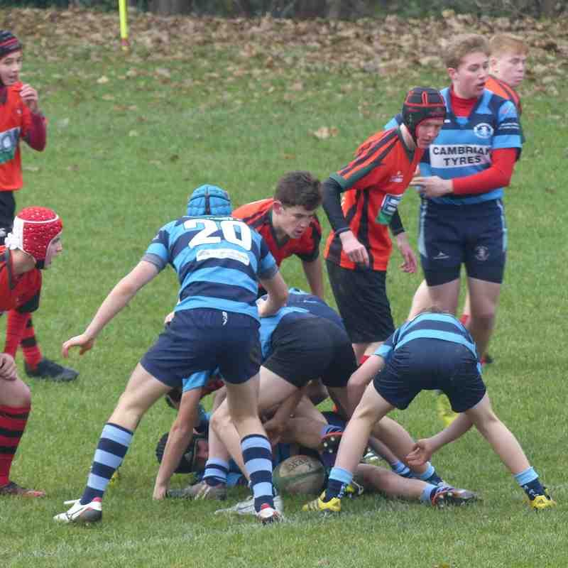 Newtown U16 v Aberystwyth U16 by Gary Williams