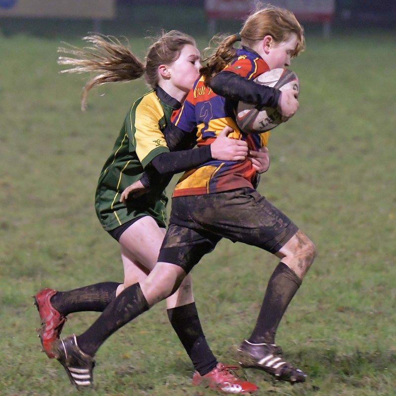 Bala Girls U13 v Nant Conwy Girls U13 by Trevor Edwards