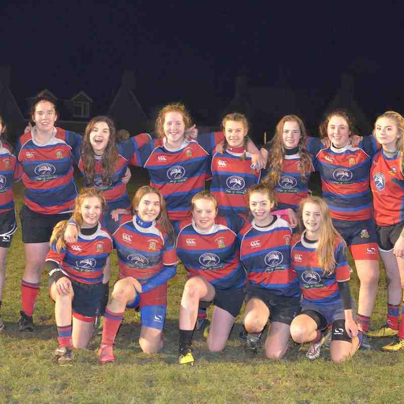 Bala Girls U16 v Nant Conwy Girls U16 by Trevor Edwards