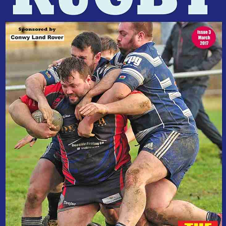 North/Mid Wales Rugby magazine, March issue is out now - free and online
