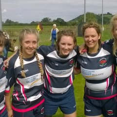 Welshpool Women at the North Wales Game On Division launch