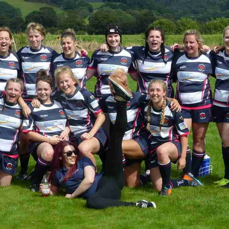 Welshpool Women perform strongly at Game On! Festival