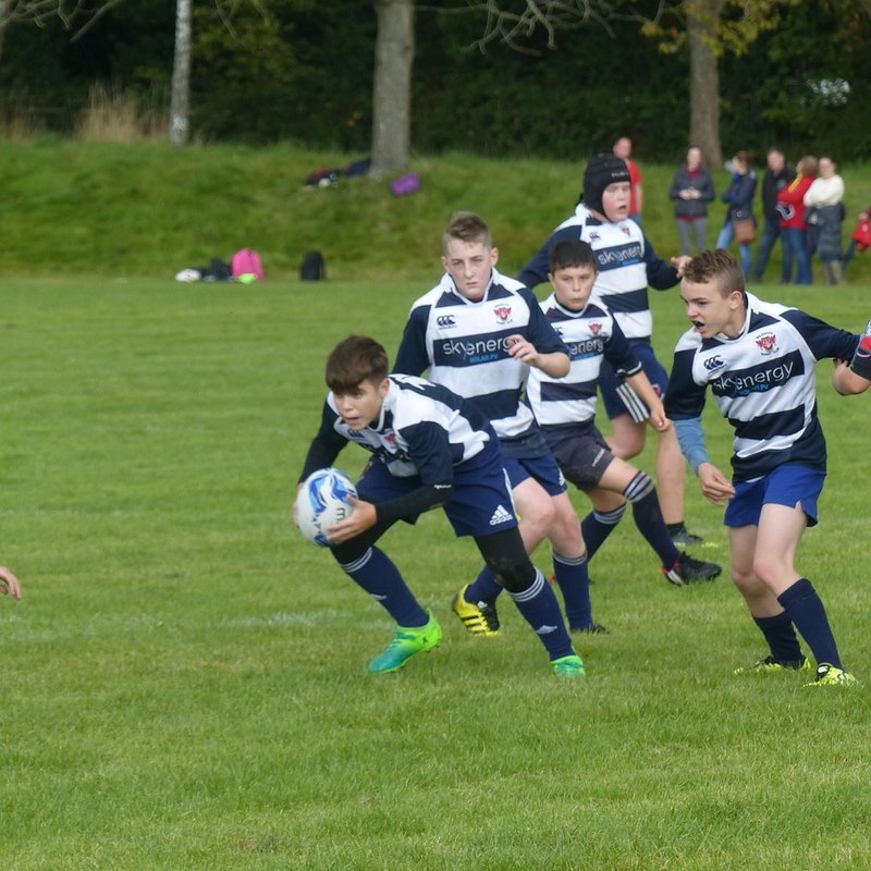 Welshpool U13s 12-53 Wrexham U13s