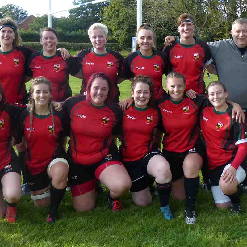 Welshpool Ladies v Llangollen Ladies by Gary Williams