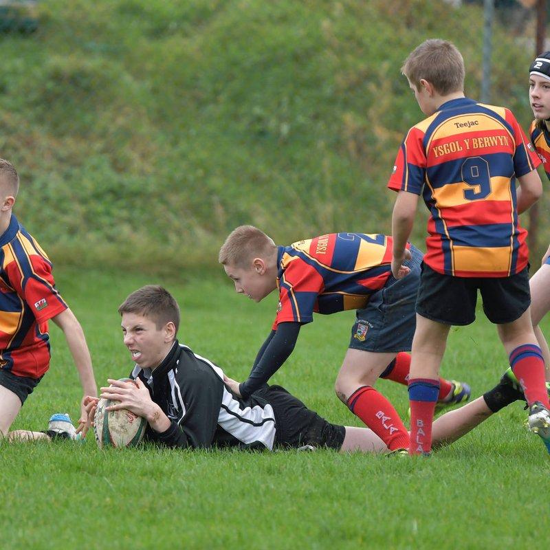 Ysgol y Berwyn U14 v Ysgol Bro Hyddgen U14 by Trevor Edwards