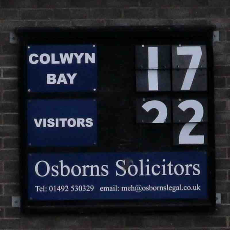 Colwyn Bay v Dolgellau by Mark Roberts