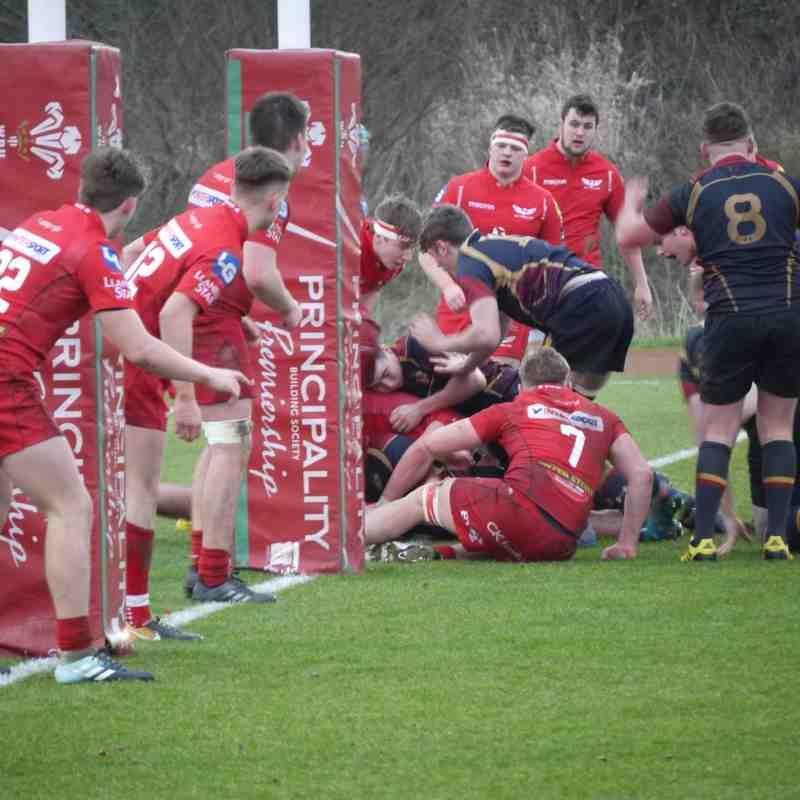 Scarlets U18 v RGC U18 by Alistair Aldridge
