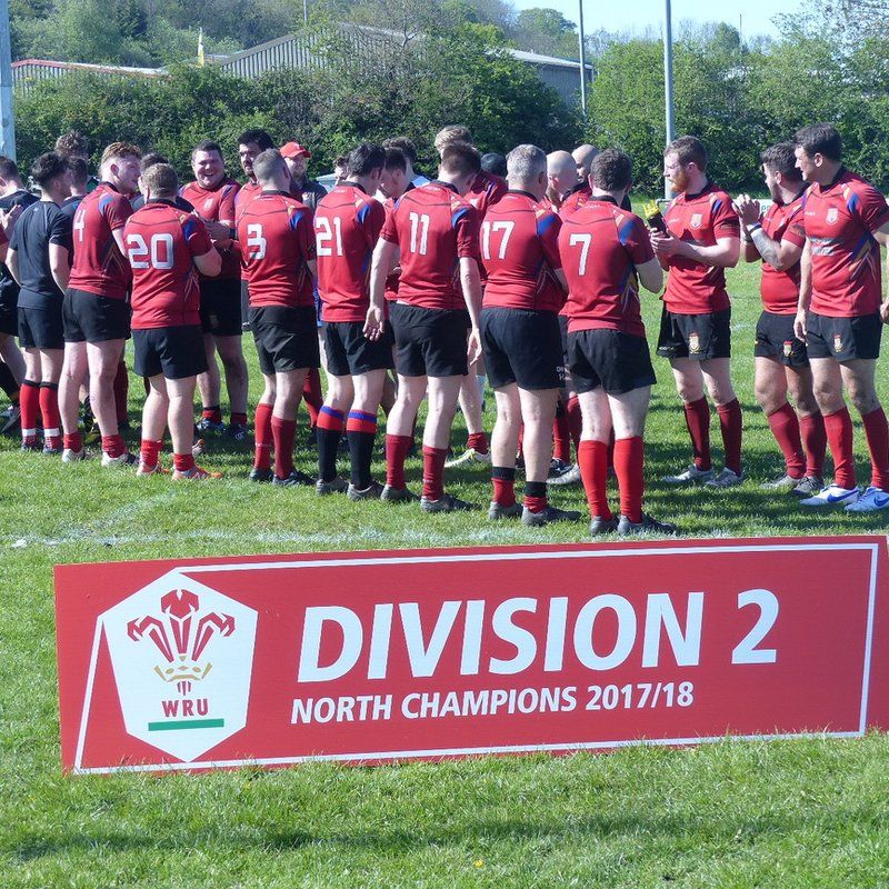North Wales Division Two Fixtures for 2018-19