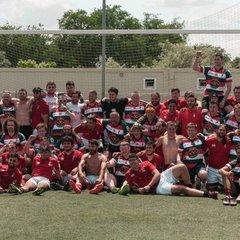 Wrexham RFC on tour in Madrid
