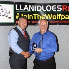 Llanidloes RFC Presentations by Roger Evans