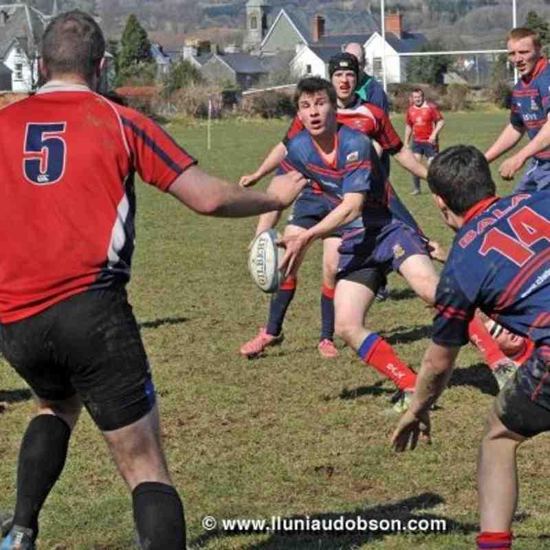 Throwback Thursday - Bala v Llangefni - five years ago 2013
